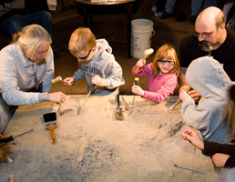Young archeologists