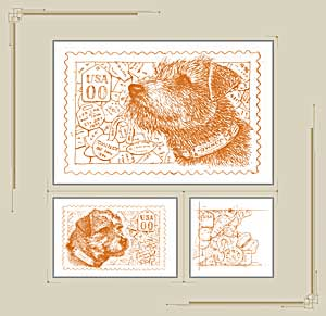 Art of the Stamp: Owney the Postal Dog