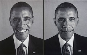 Portraits of President Barack Obama