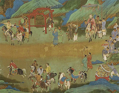 Old Tales Retold Chinese Narrative Painting Smithsonian