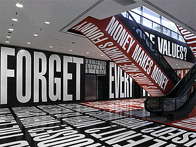 Barbara Kruger: Belief + Doubt