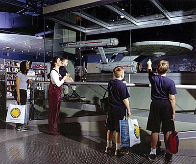 U s s starship enterprise model smithsonian institution for 1801 avenue of the stars 6th floor