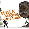 Walk Among Dinosaurs! Augmented Reality Experience