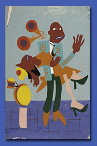 William H. Johnson's World on Paper