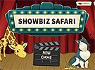 Showbiz Safari start page