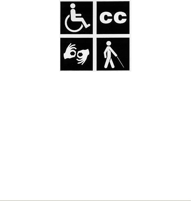 accessible, close caption asl blind low vision
