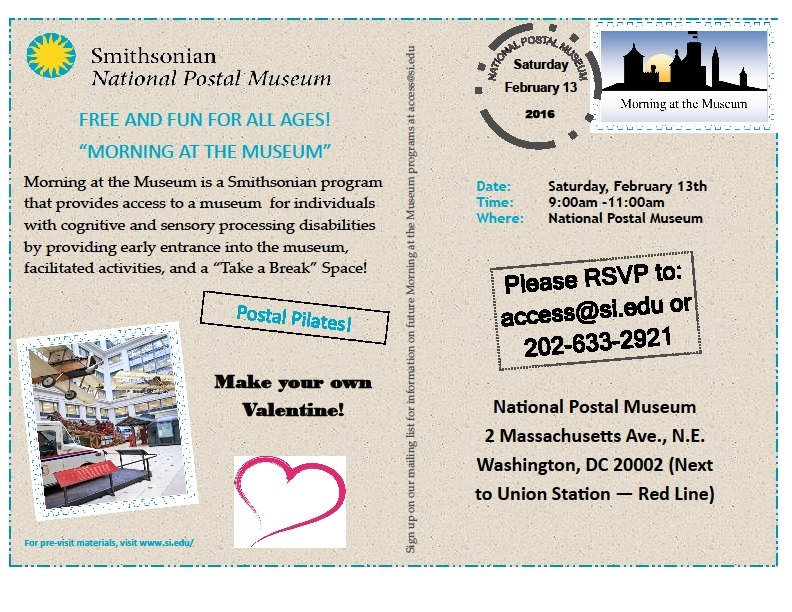 National Postal Museum Flyer