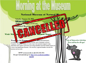 National Museum of Natural History Flyer