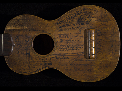 Imaging of Konter Ukulele to Help <br /> with Visiblility of Historic Signatures
