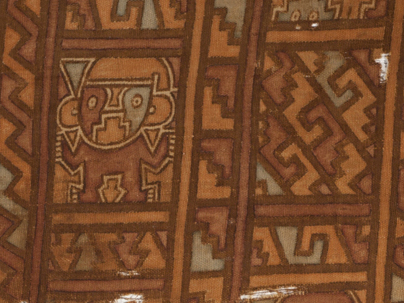 Imaging of NMAI Peruvian Textiles<br /> Detail of NMAI 220497