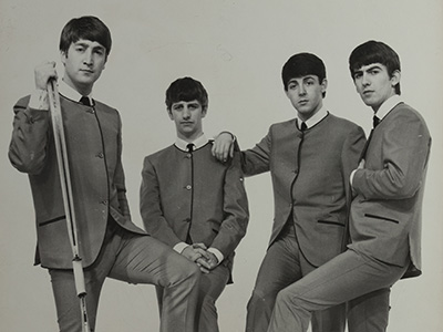 RTI Unveils Signatures on Back of Beatles Photo <br /> Jewish Historical Society of Greater Washington