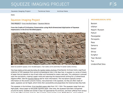 Digitization Project Brings Ancient Near <br /> Eastern Inscriptions into 21st Century