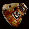 Apollo 11 Command Module Columbia linking to Museum website