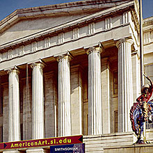 American Art Museum website