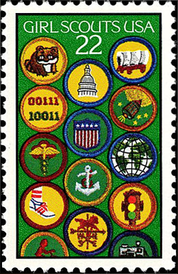 Girl Scouts USA Stamp