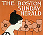 Boston Sunday Herald, Feb. 24, 1895, newspaper poster. Ethel Reed's first poster. GA*22687.
