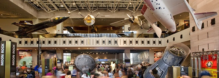 <br/>National Air and Space Museum <i>Milestones of Flight</i><br/>December 2013 Entrance-Exit Survey, December 2013