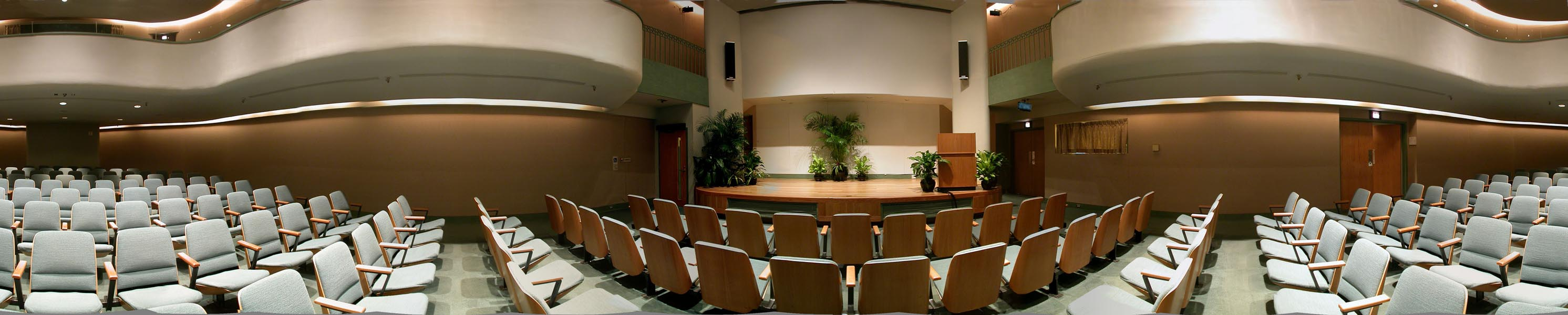 lecture hall panoramic