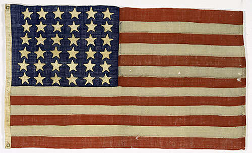 Lincoln Funeral Train Flag
