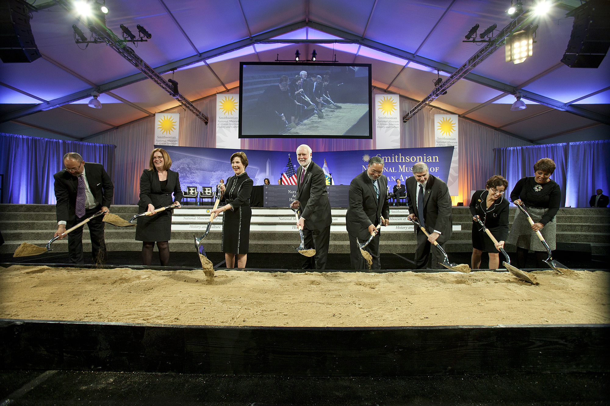 Nmaahc Ground Breaking Smithsonian Institution