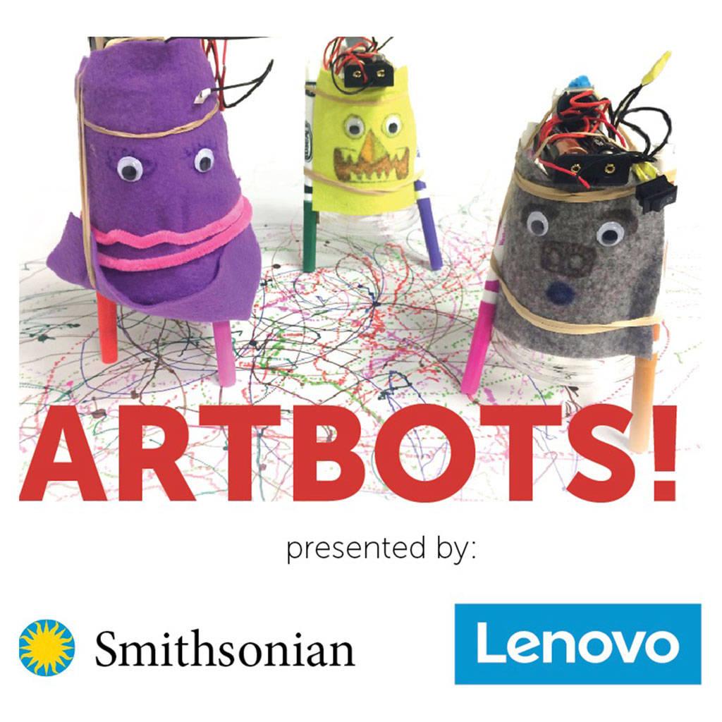 Smithsonian Learning Lab Art Robots
