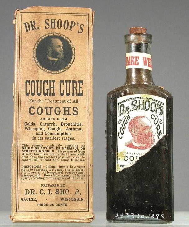Cough cure.