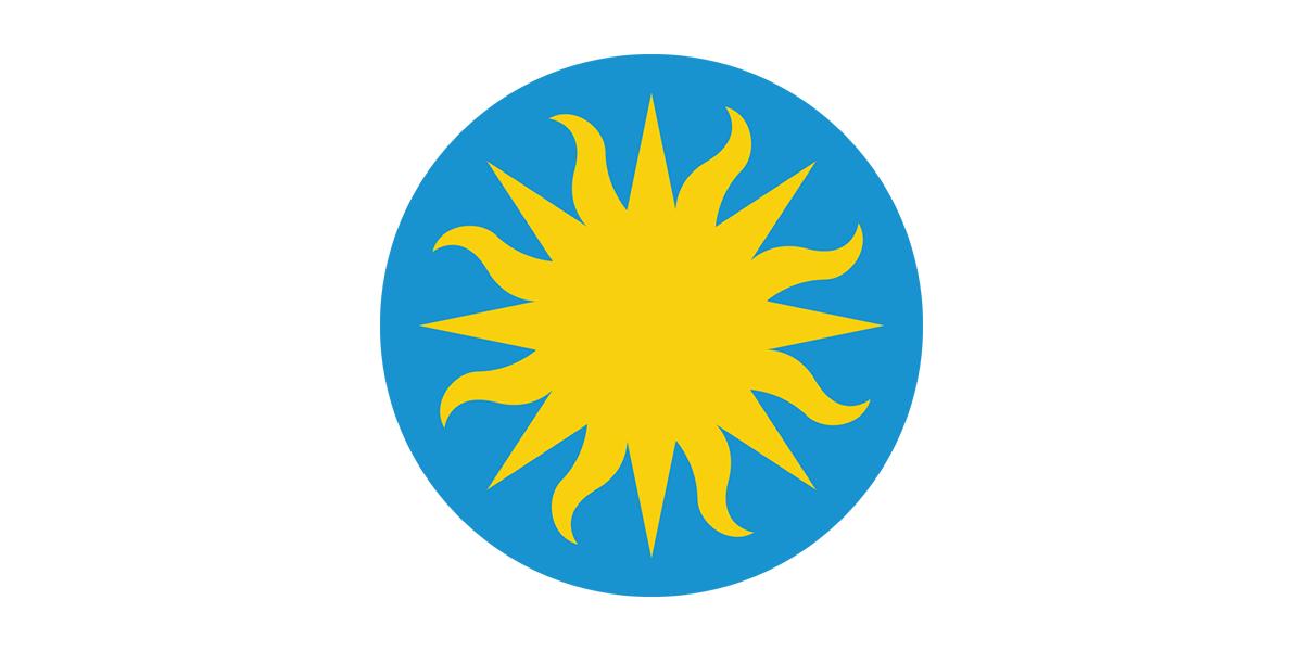 SI sunburst logo