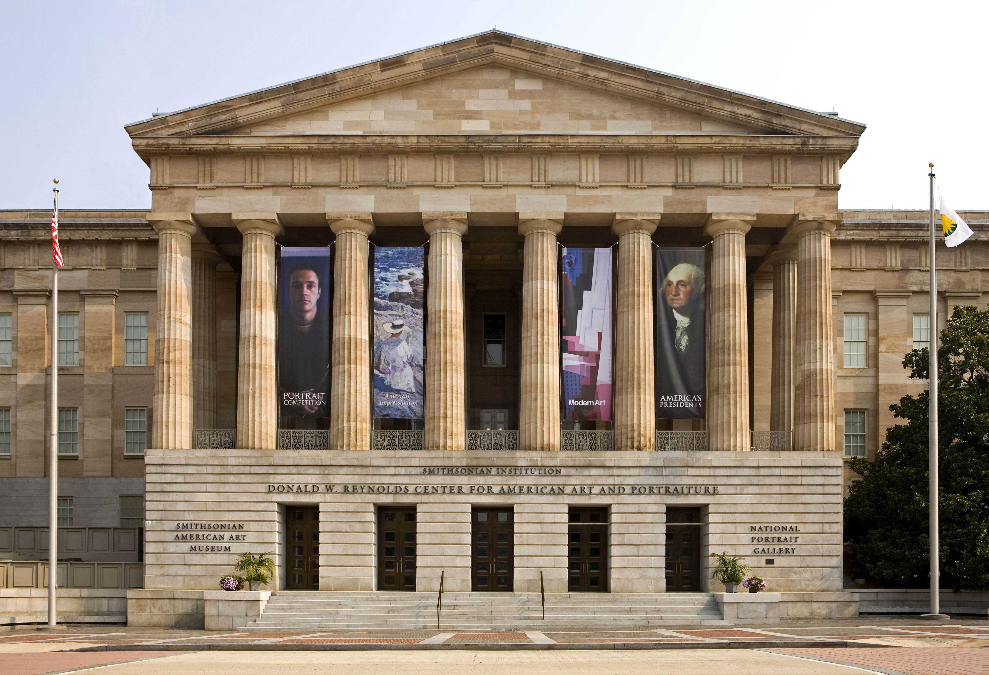 Exterior of National Portrait Gallery