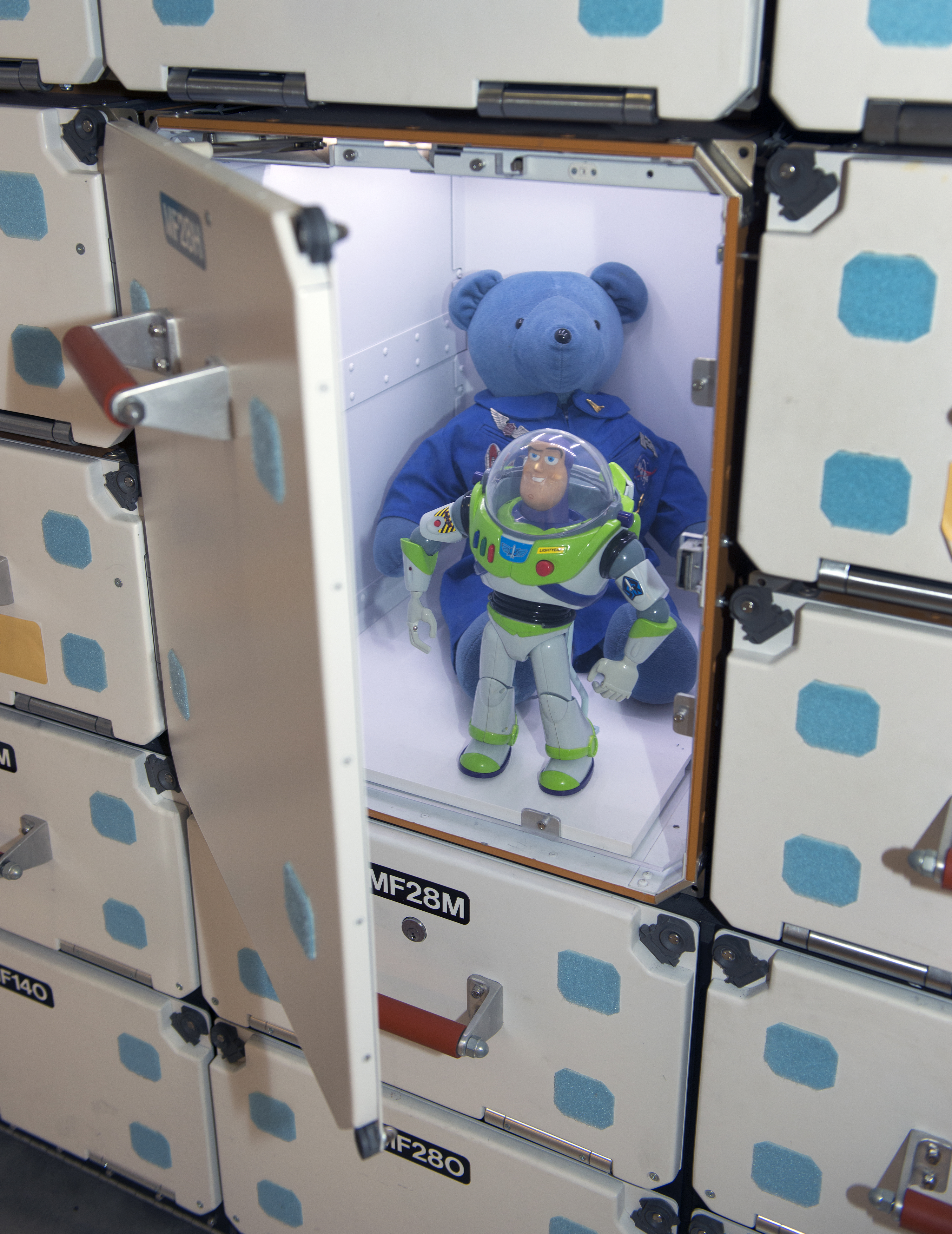 Buzz Lightyear and Magellan T  Bear | Smithsonian Institution