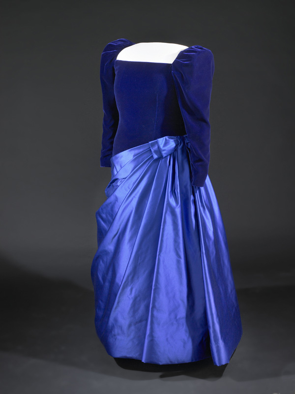 barbara bush s inaugural gown 1989 smithsonian institution