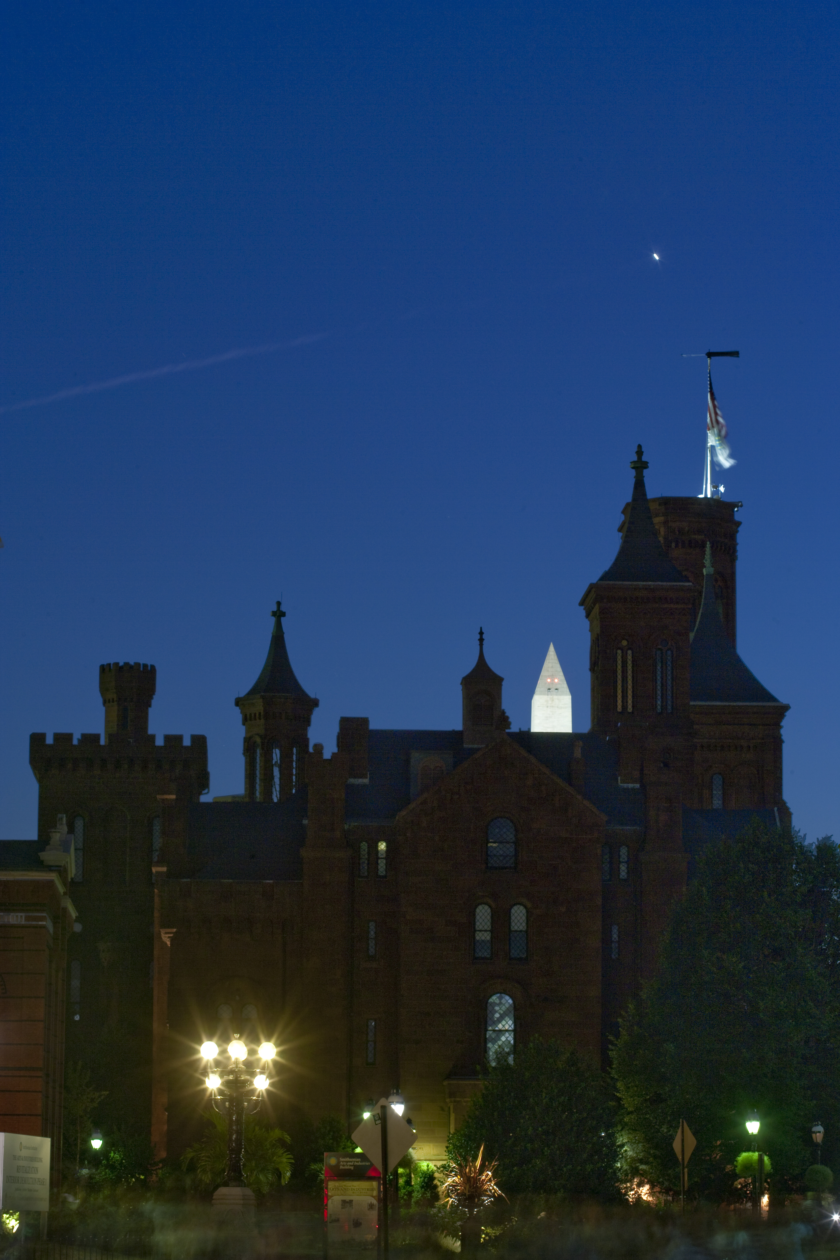 Smithsonian Castle At Night Smithsonian Institution