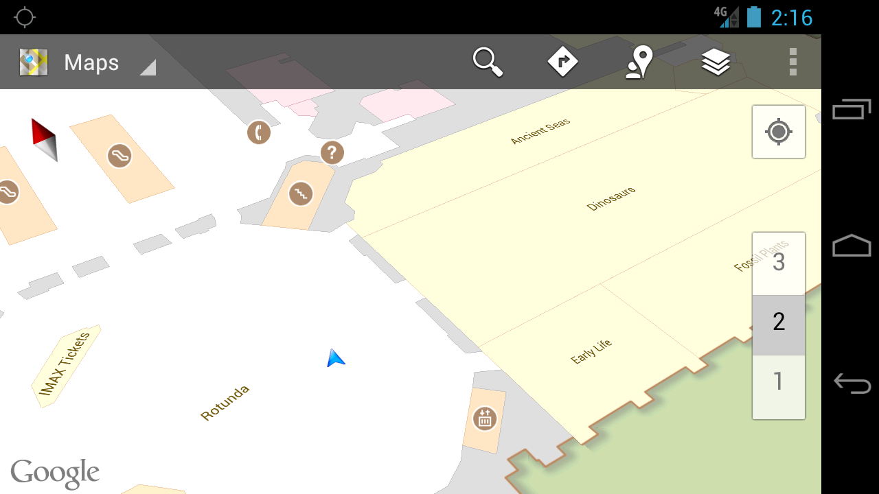 Indoor Google Maps Natural History Museum Smithsonian Institution