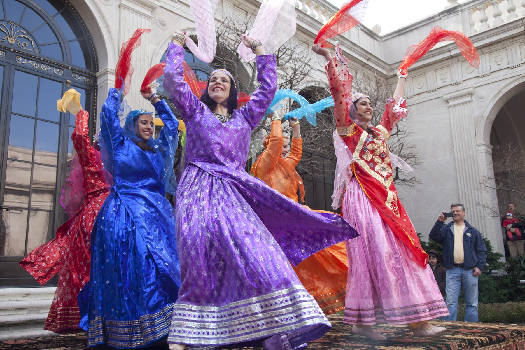 Nowruz Dancers