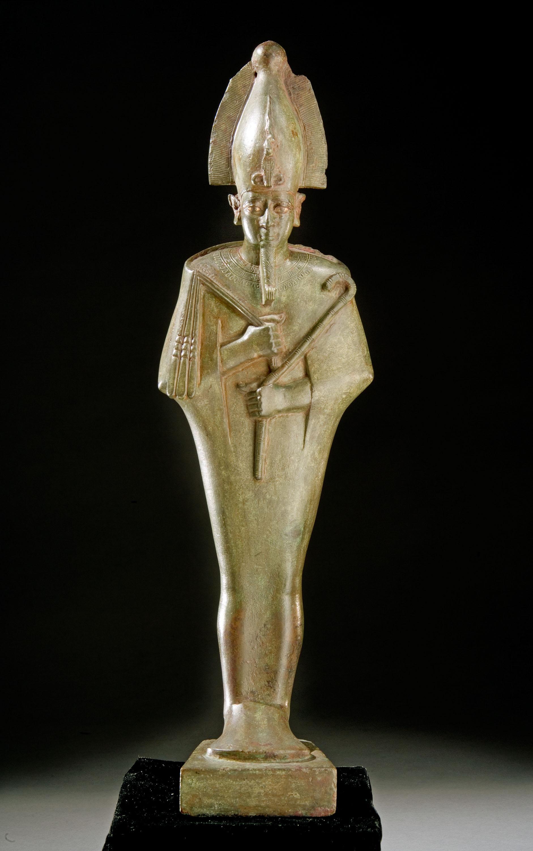 eternal life osiris statue smithsonian institution