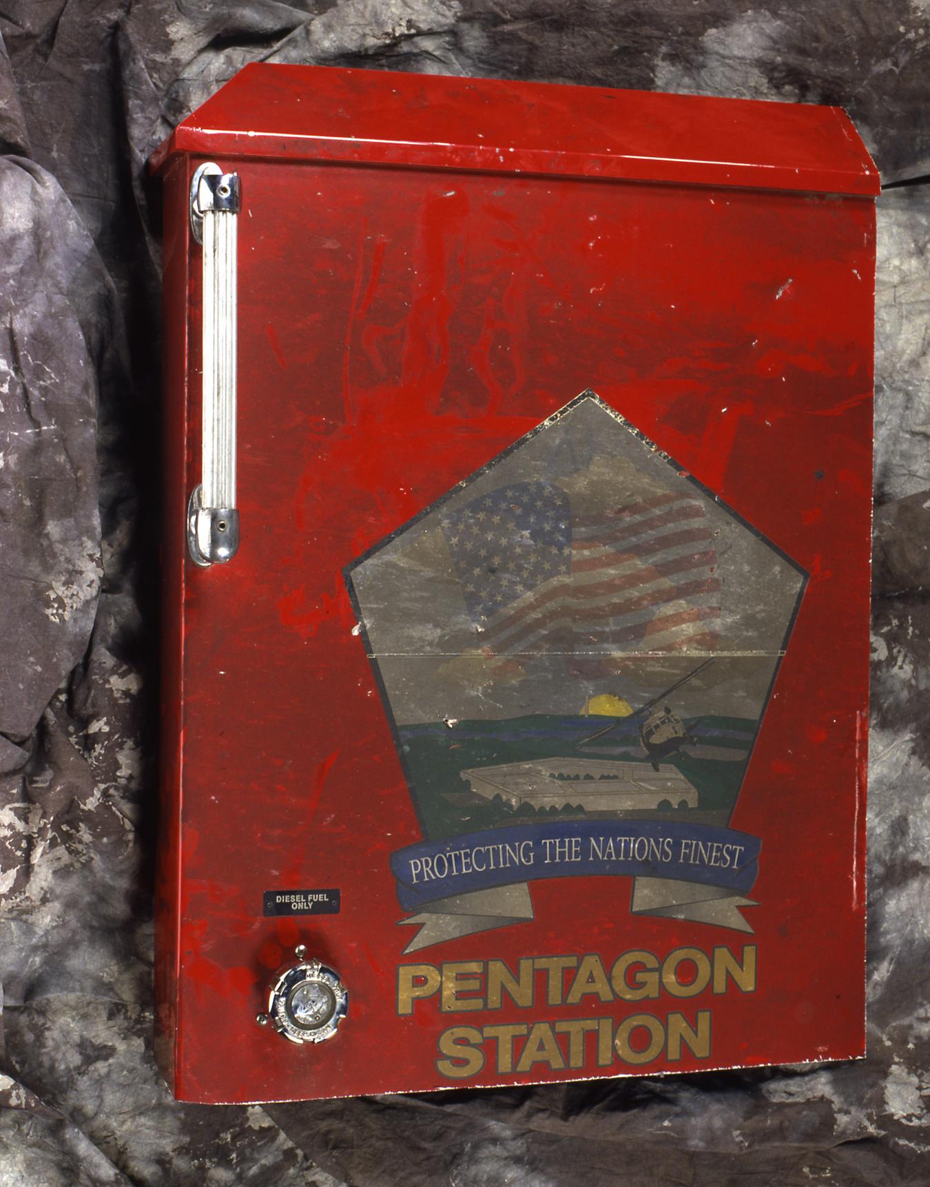 Pentagon fire truck panel