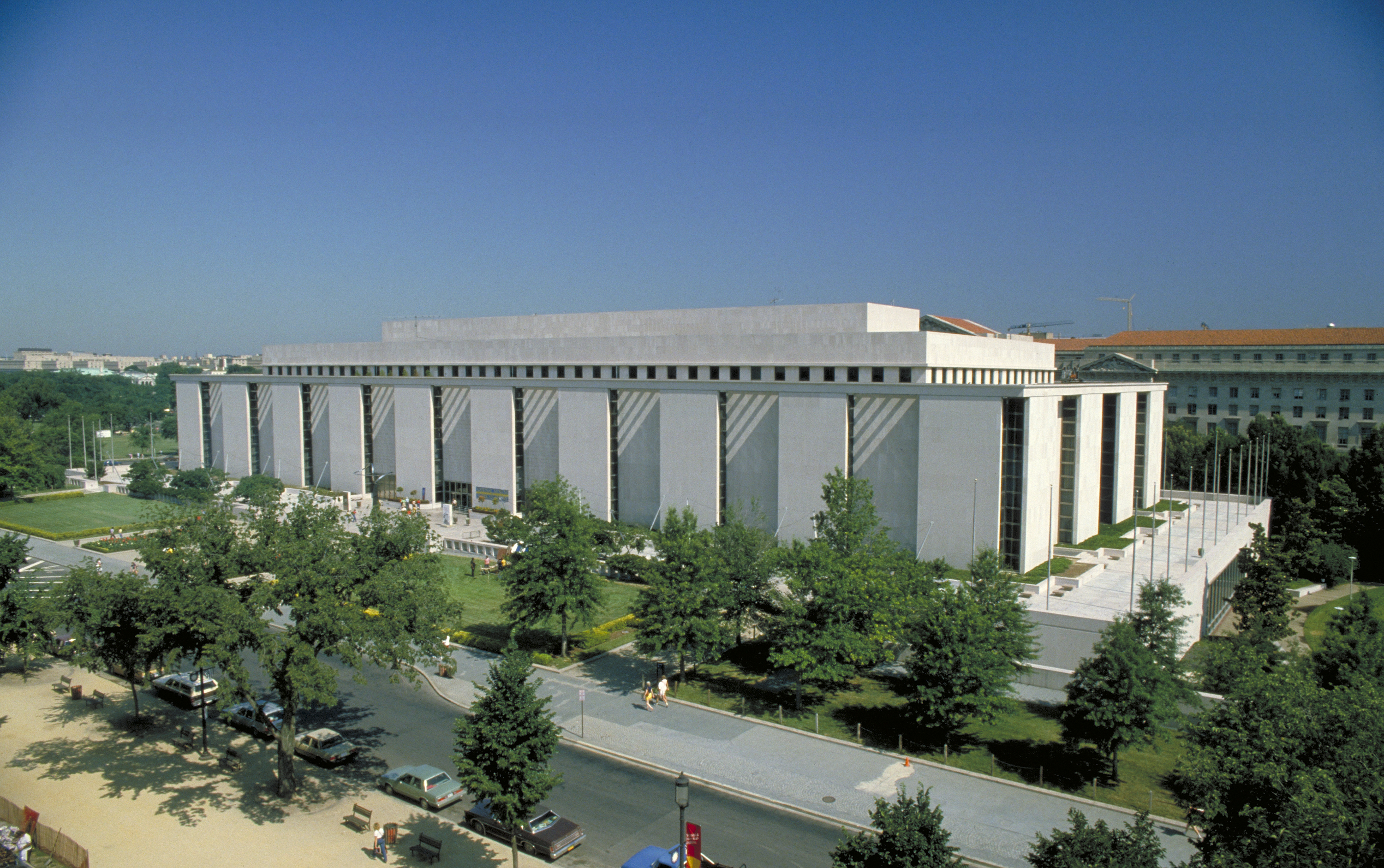 Exterior of American History Museum
