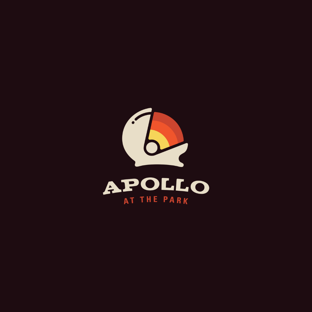 Apollo at the park logo