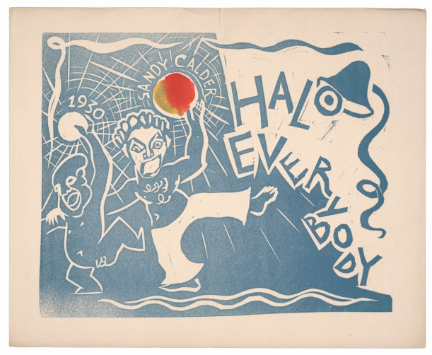 card by Alexander Calder, 1929