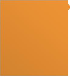 Stylized spade digging a hole