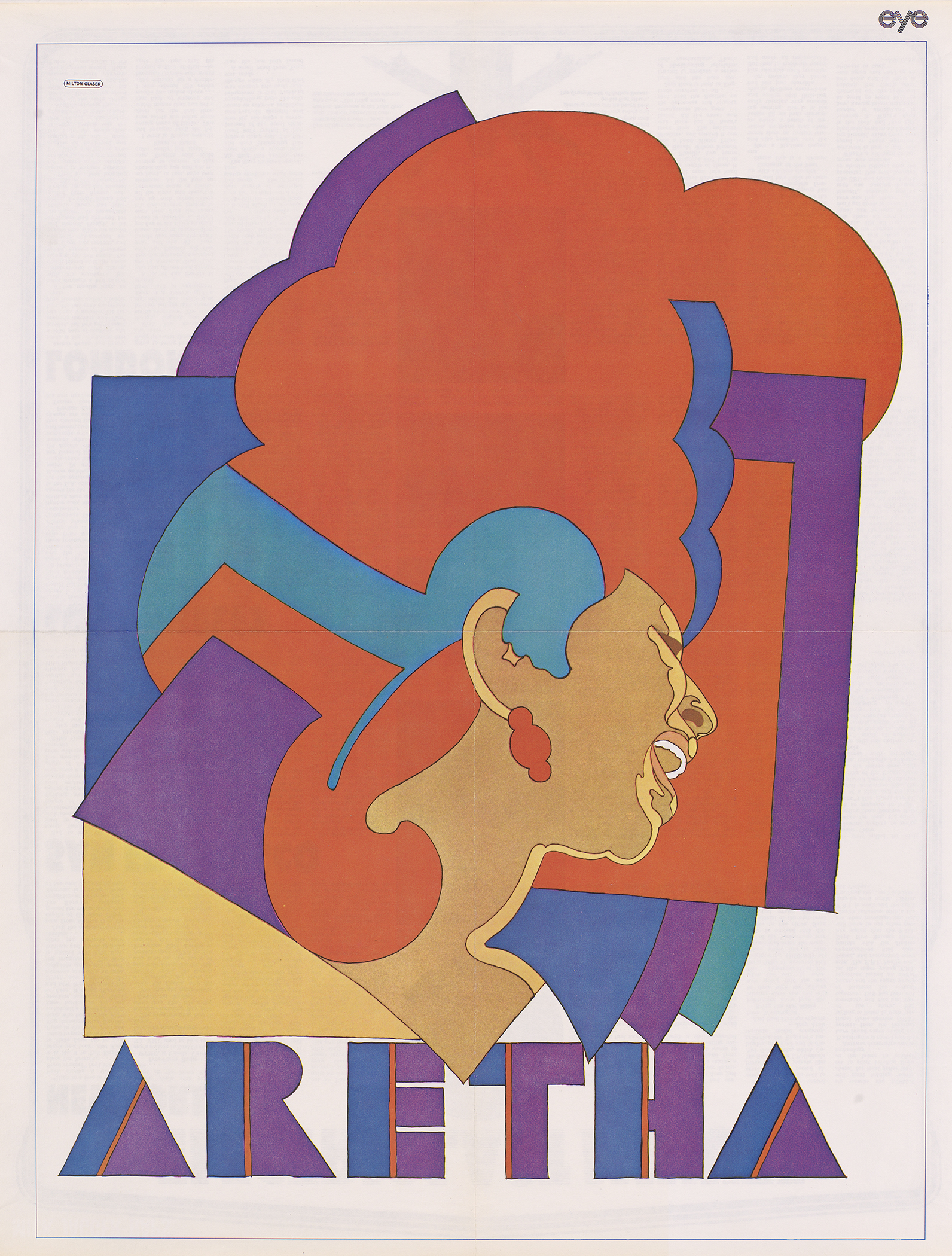 Poster of Aretha Franklin