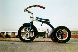 "Eggleston's ""Tricycle"" artwork"