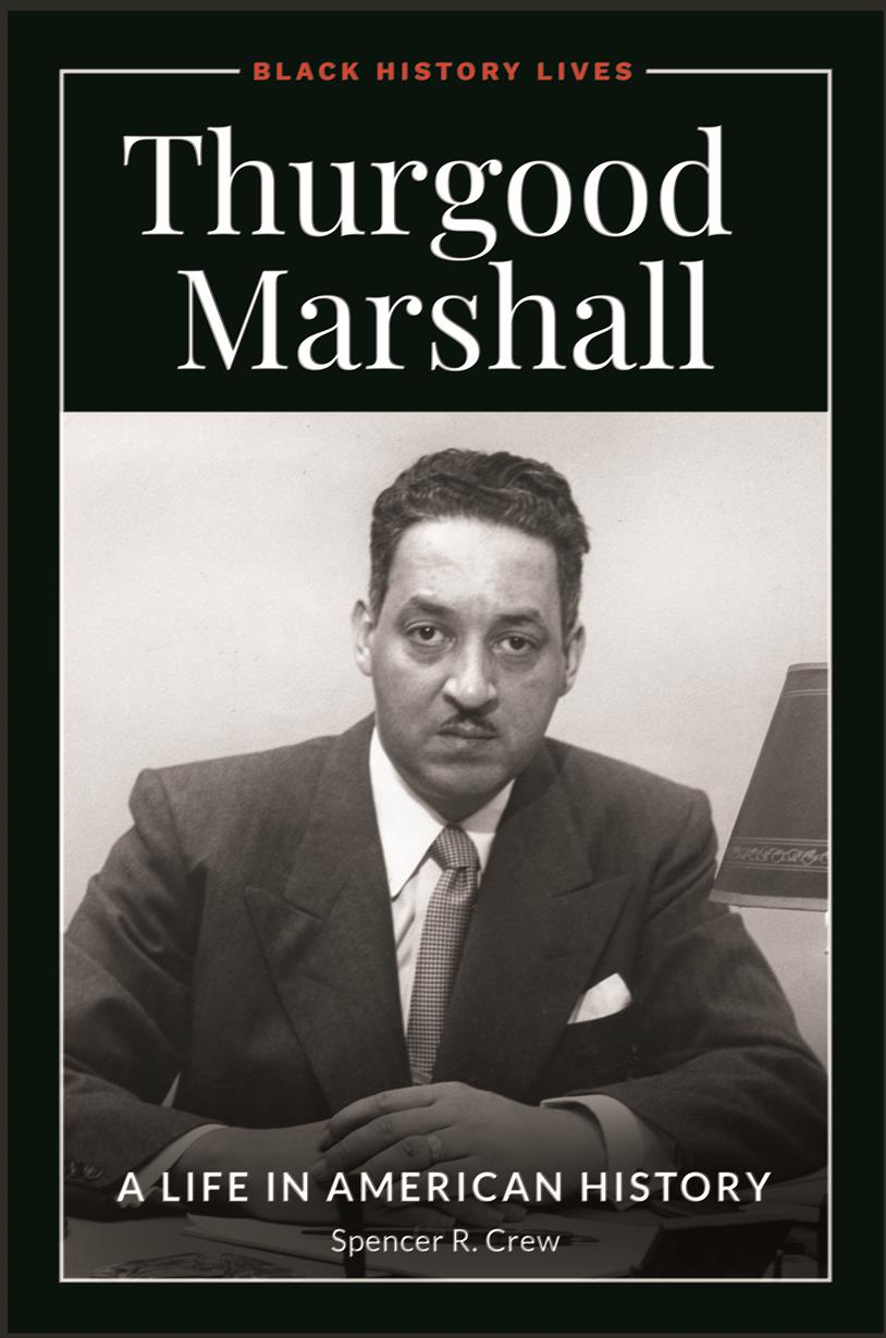 Thurgood Marshall book cover.