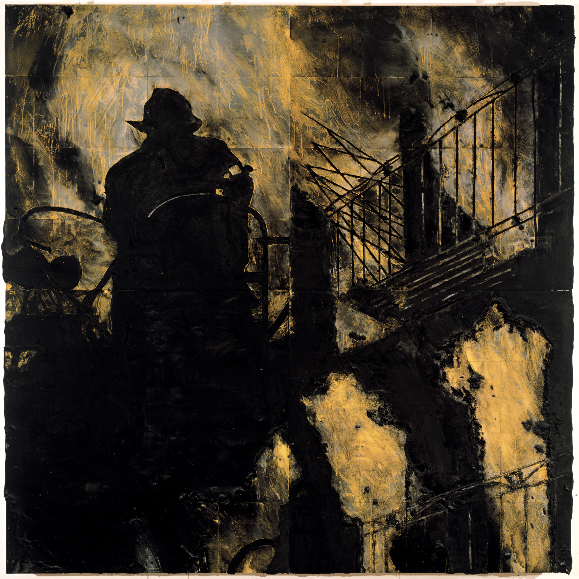 donald sultan the disaster paintings opens may 26 at the