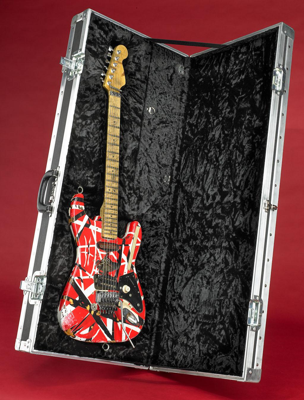 national museum of american history receives eddie van halen s frankenstein replica guitar. Black Bedroom Furniture Sets. Home Design Ideas