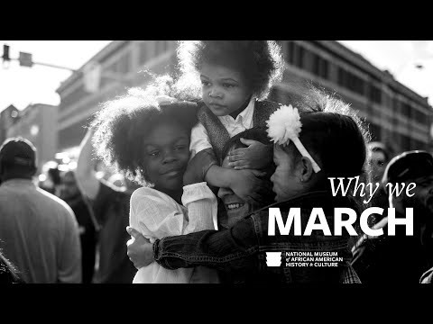 """Still image from """"Why we March"""""""