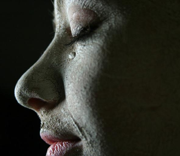 First Annual Teen Portrait Competition Winner - Profile of Woman Crying