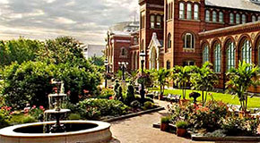 Katherine Folger Rose Garden at the Smithsonian Castle and Arts & Industries