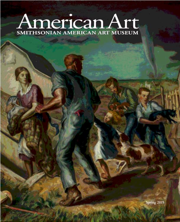 Cover of Spring 2015 American Art journal