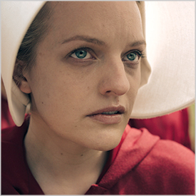 Still image from the Handmaids Tale film