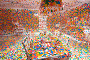 thumbnail image of INfinity Mirrors installation of room covered with polka dots